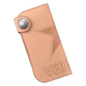 vanson ロングウォレット VP-115-01 ナチュラル(本牛ヌメ革•栃木レザー)