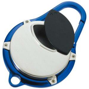 携帯灰皿 カラビナアッシュトレイ 「ブルー」