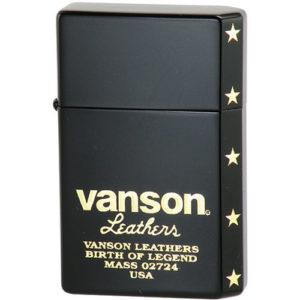 vanson × GEAR TOP V-GT-06 ロゴデザイン ブラック