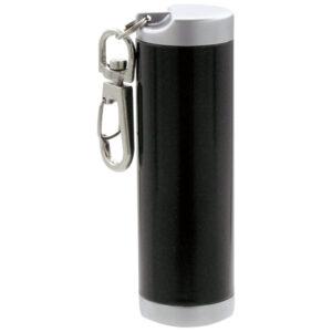 携帯灰皿 アッシュシリンダースリム 「ブラックメタリック」